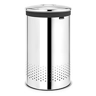 Brabantia Laundry basket 60 liters bright steel