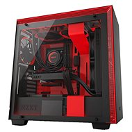 NZXT H700i černo-červená