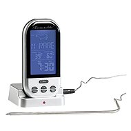 Rosenstein & Söhne Grill-Thermometer mit Display XXL - Digitales Thermometer