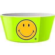ZAK Miska na cereálie SMILEY 15cm, zelená - Miska