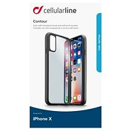 CellularLine CONTOUR pro Apple iPhone X černý