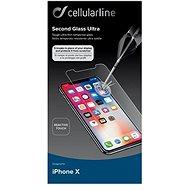 CellularLine Glass pro iPhone X - Ochranné sklo