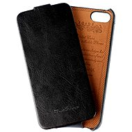 Vintage Fashion Flip for iPhone 5 / 5S / SE black