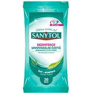 Sanytol wipes with fragrance of eucalyptus 24 pieces