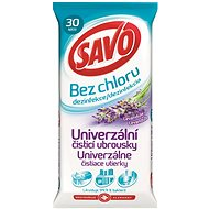 SAVO chlorine-free cleaning cloths Universal Lavender 30 pieces