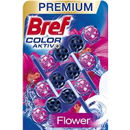 BREF Blue Aktiv Fresh Flower 3 × 50 g - WC blok