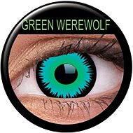 ColourVUE dioptrische Kontaktlinsen Crazy Lens (2 Linsen), Farbe: Green Werewolf, Dioptrien: -2.00