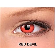 ColourVUE dioptrické Crazy Lens (2 šošovky), farba: Red Devil