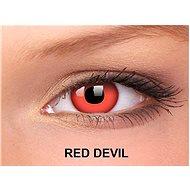 ColourVUE Crazy Lens dioptric (2 lenses), colour: Red Devil, diopter: -5.50