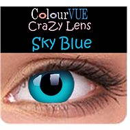 ColourVUE dioptrické Crazy Lens (2 šošovky), farba: Sky Blue