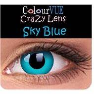 ColourVUE dioptrické Crazy Lens (2 šošovky), farba: Sky Blue, dioptrie: -3.50