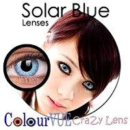 ColourVUE dioptrické Crazy Lens (2 šošovky), farba: Solar Blue