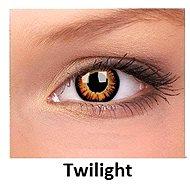 ColourVUE dioptrické Crazy Lens (2 šošovky), farba: Twilight