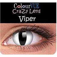 ColourVUE dioptrické Crazy Lens (2 šošovky), farba: Viper
