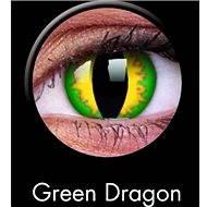 ColourVUE diopter Crazy Lens (2 lenses), colour: Green Dragon