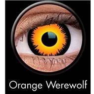 ColourVUE dioptrické Crazy Lens (2 šošovky), farba: Orange Werewolf