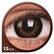 Big Eyes ColourVUE Dioptrien (Linse 2) Farbe: Seien Sie süßer Honig, Dioptrien: -0.75 - Kontaktlinsen