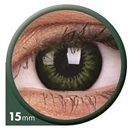 ColourVUE diopter Big Eyes (2 lenses), colour: Be green party