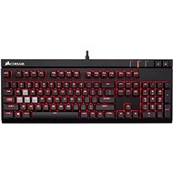 Corsair Gaming STRAFE RED LED Cherry MX Blue - Tastatur