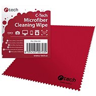 C-TECH CPM-01R cleaning cloth, red