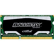 Crucial SO-DIMM 4GB DDR3 1600MHz CL9 Ballistix Sport