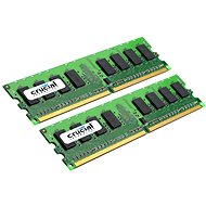 Crucial 2GB Kit DDR2 667MHz CL5 - System Memory