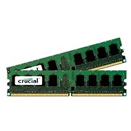 Crucial 4GB KIT DDR2 667MHz CL5 - System Memory