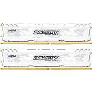 Crucial 8GB KIT DDR4 2400MHz CL16 Ballistix Sport LT Single Ranked White