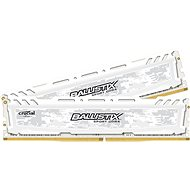 Crucial 32GB KIT DDR4 2666MHz CL16 Ballistix Sport LT White - System Memory