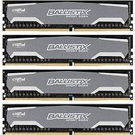 Crucial 16GB KIT DDR4 2400MHz CL16 Ballistix Sport Single Ranked