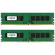 Crucial 16GB KIT DDR4 2400MHz CL17 Single Ranked x8