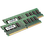 Crucial 4GB KIT DDR2 800MHz CL5 ECC Unbuffered