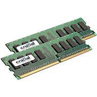 Crucial 4GB KIT DDR2 800MHz CL5 ECC Unbuffered - Operační paměť