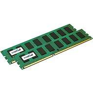 16 GB Crucial DDR3 1600MHz CL11 KIT ECC Unbuffered Dual Voltage