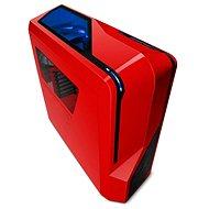 NZXT Phantom 410 červená - Počítačová skříň