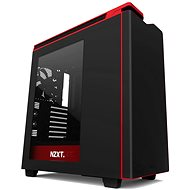 NZXT H440 matte black/red - PC Case