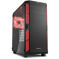 Sharkoon AI7000 Glass Red
