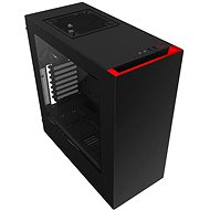 NZXT S340 Black/Red - PC Case
