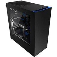 NZXT S340 schwarz/blau