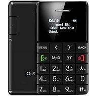 CUBE1 CardPhone Black - Mobilní telefon