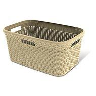 Curver basket clean linen RATTAN 45 litres 00708-885