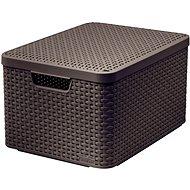 CURVER STYLE BOX s víkem L, 03619-210 – hnědý - Box