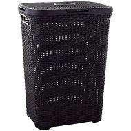 Curver laundry basket 40 liters brown RATTAN