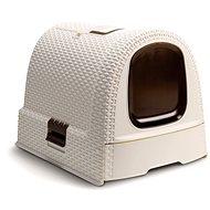 Curver Toaleta pre mačky Rattan 00615-P16