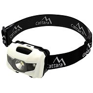 Cattara Headlamp LED 80lm black and white - Headtorch