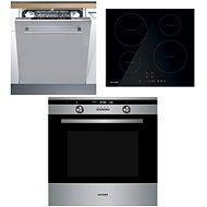 CONCEPT ETV7760 + CONCEPT IDV2760 + CONCEPT MNV4460 - Set spotřebičů