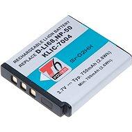 PENTAX T6 power Pentax D-Li68, Kodak KLIC-7004, Fuji NP-50 - Náhradní baterie