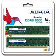 ADATA 8 GB KIT DDR3 1600MHz CL9