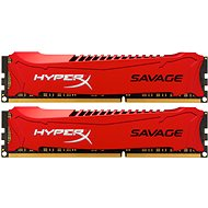 Kingston 8GB KIT DDR3 1600MHz CL9 HyperX Savage Series