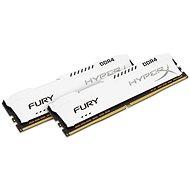 Kingston 16GB KIT DDR4 2133MHz CL14 HyperX Fury White Series - Operační paměť